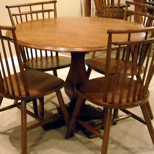 Liberty Furniture Creations II Drop Leaf Pedestal Table