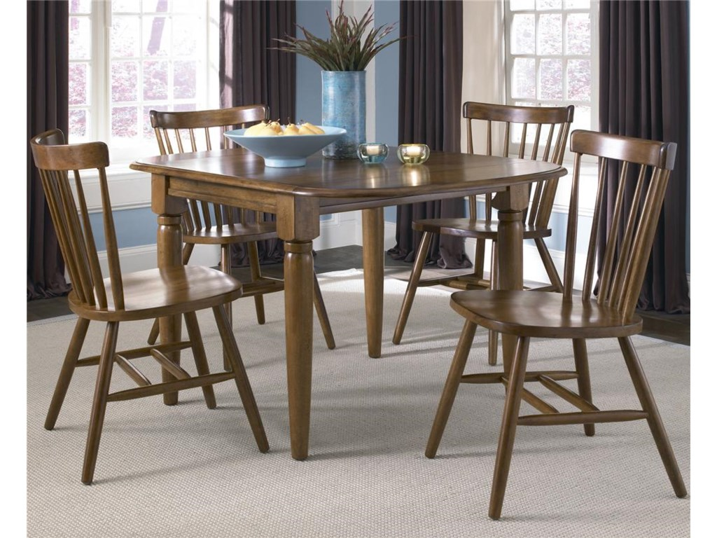 Liberty Furniture Creations II5 Piece Dinette Table and Chair Set