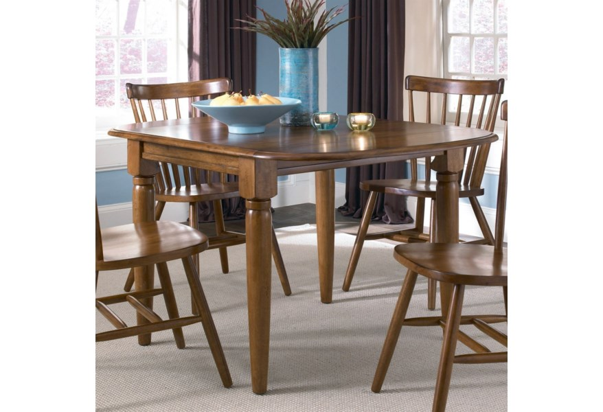 Creations II Dinette Table with Two Drop Down Leaves by Liberty Furniture  at Corner Furniture