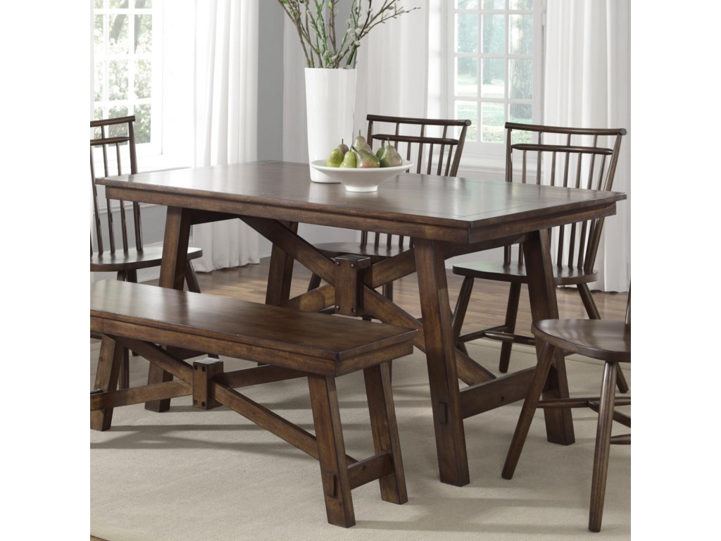 Liberty Furniture Creations IIRectangular Trestle Table
