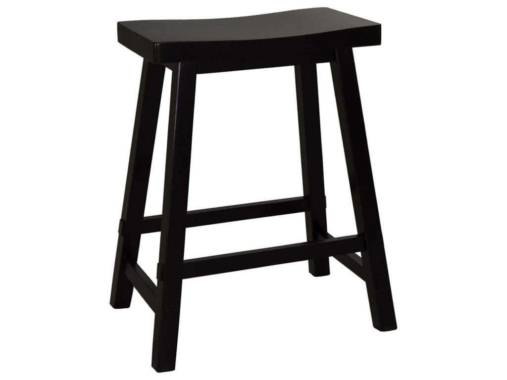 Liberty Furniture Creations II24 Inch Sawhorse Barstool