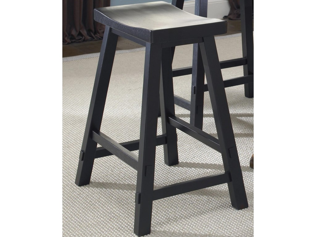Liberty Furniture Creations II30 Inch Sawhorse Barstool