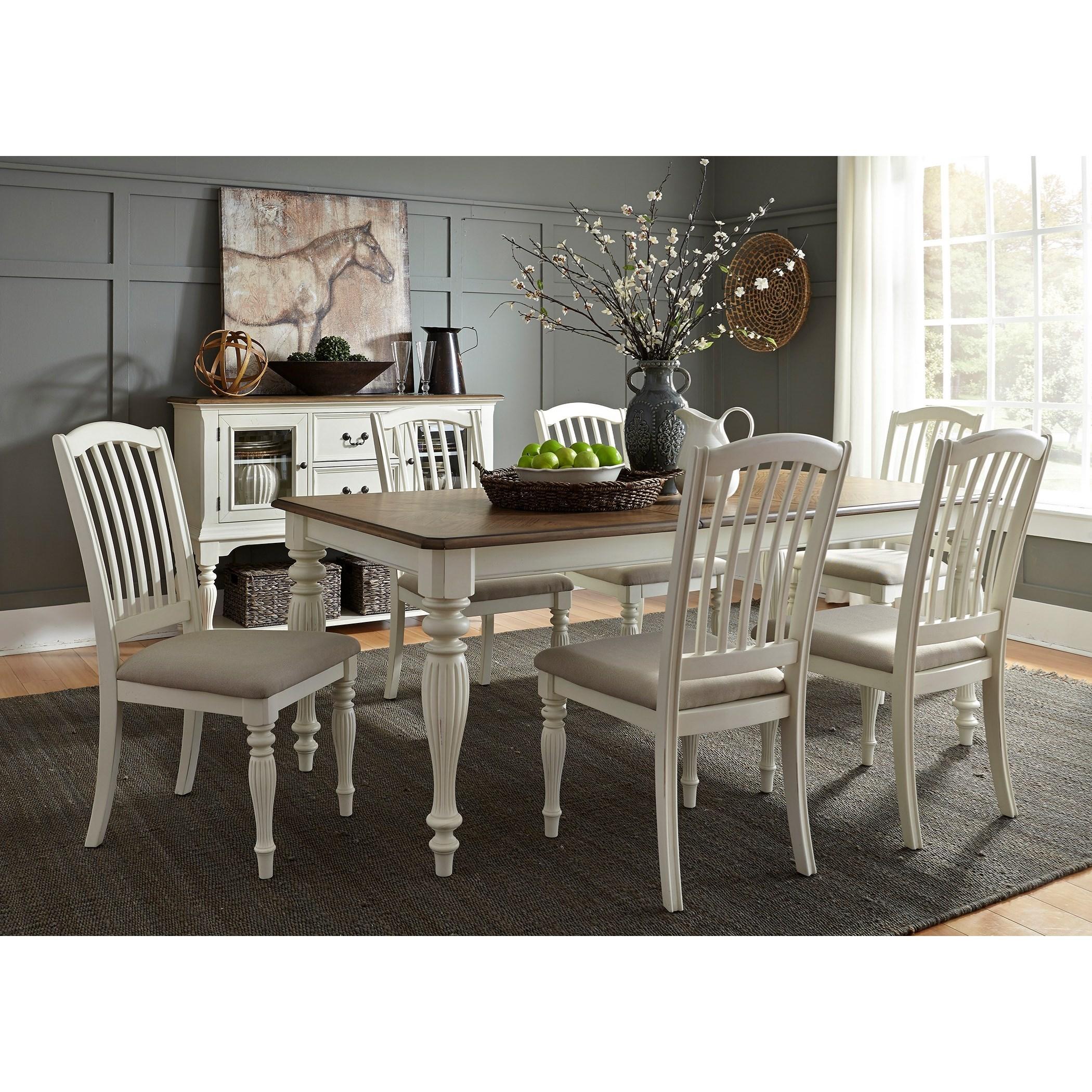 Sarah Randolph Designs Cumberland Creek Dining Formal Dining Room Group