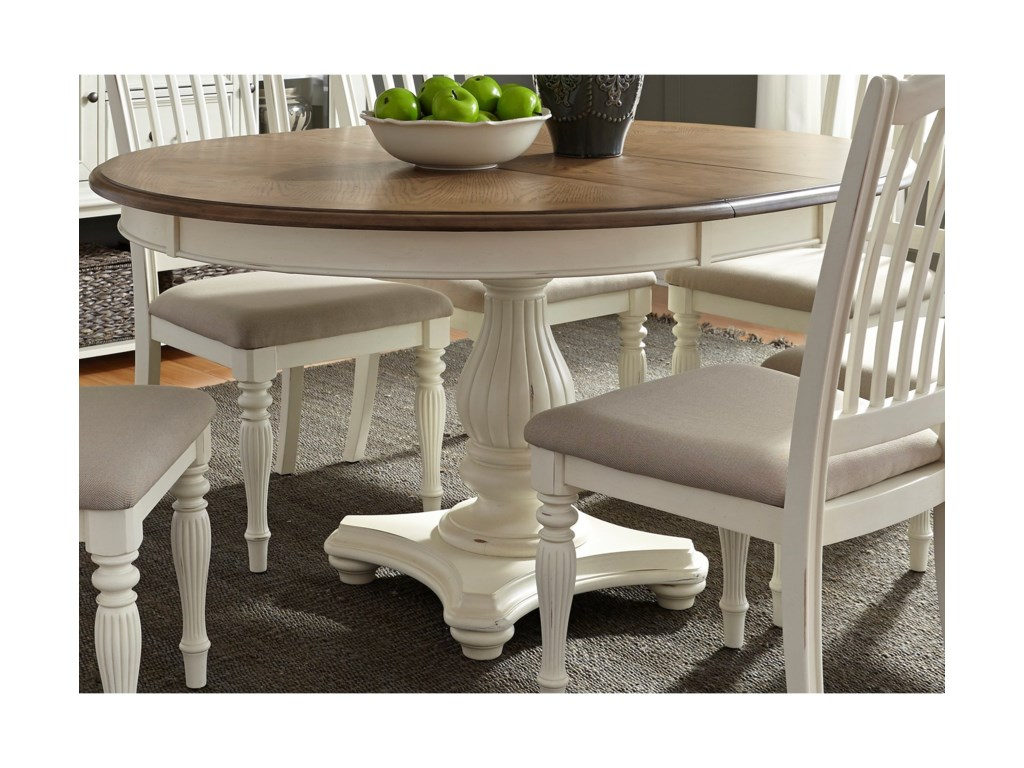 Liberty Furniture Cumberland Creek DiningPedestal Table