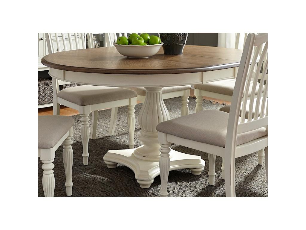 Liberty Furniture Cumberland Creek DiningPedestal Table