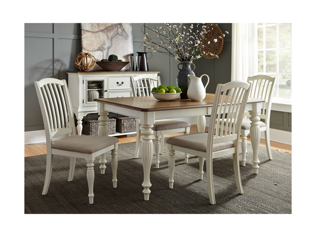 Liberty Furniture Cumberland Creek DiningRectangular Leg Table
