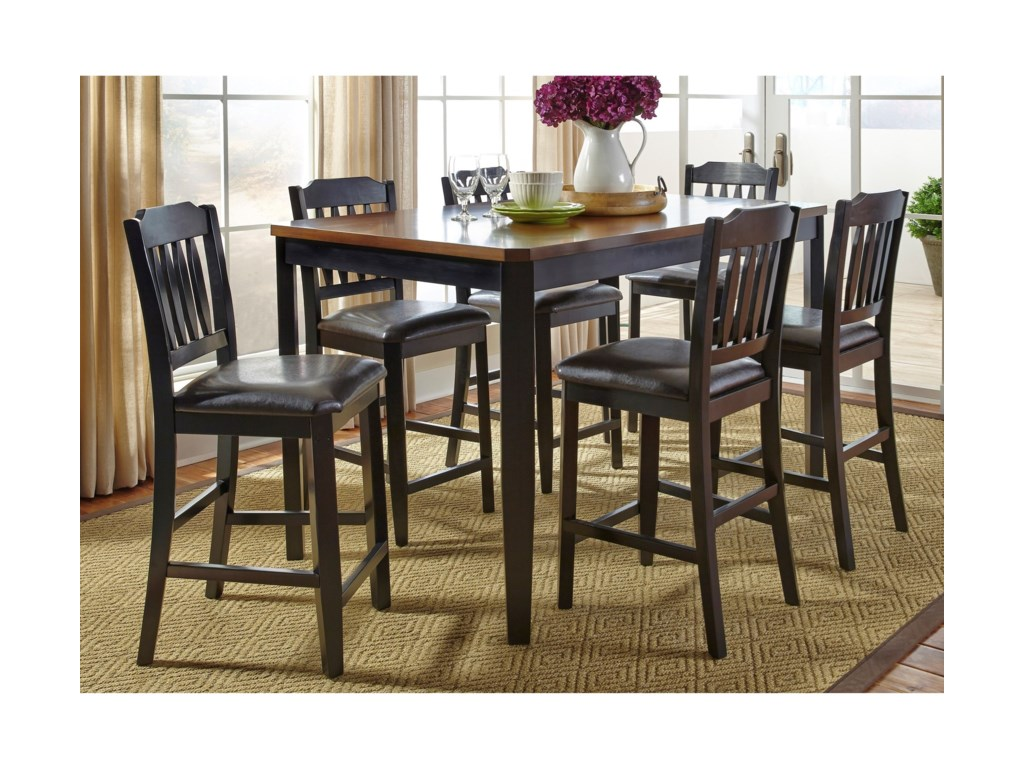 Liberty Furniture Devonwood7 Piece Gathering Table Set