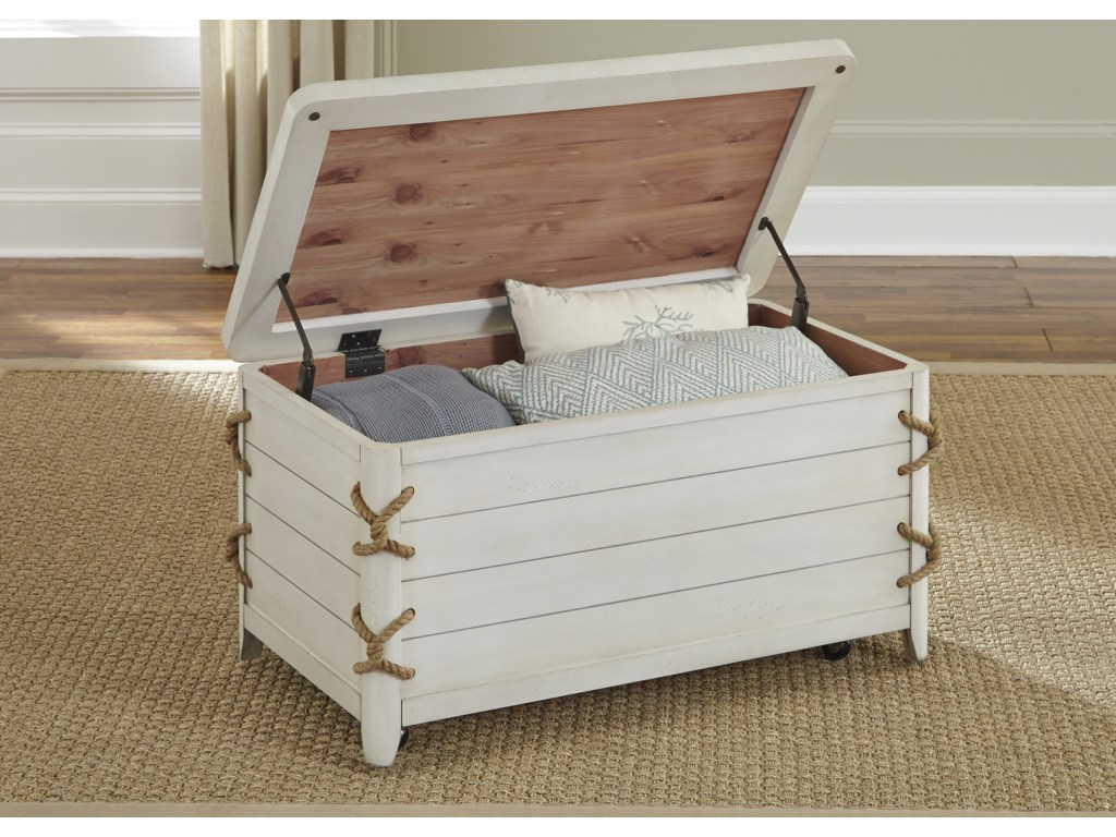 Liberty Furniture Dockside IIStorage Trunk