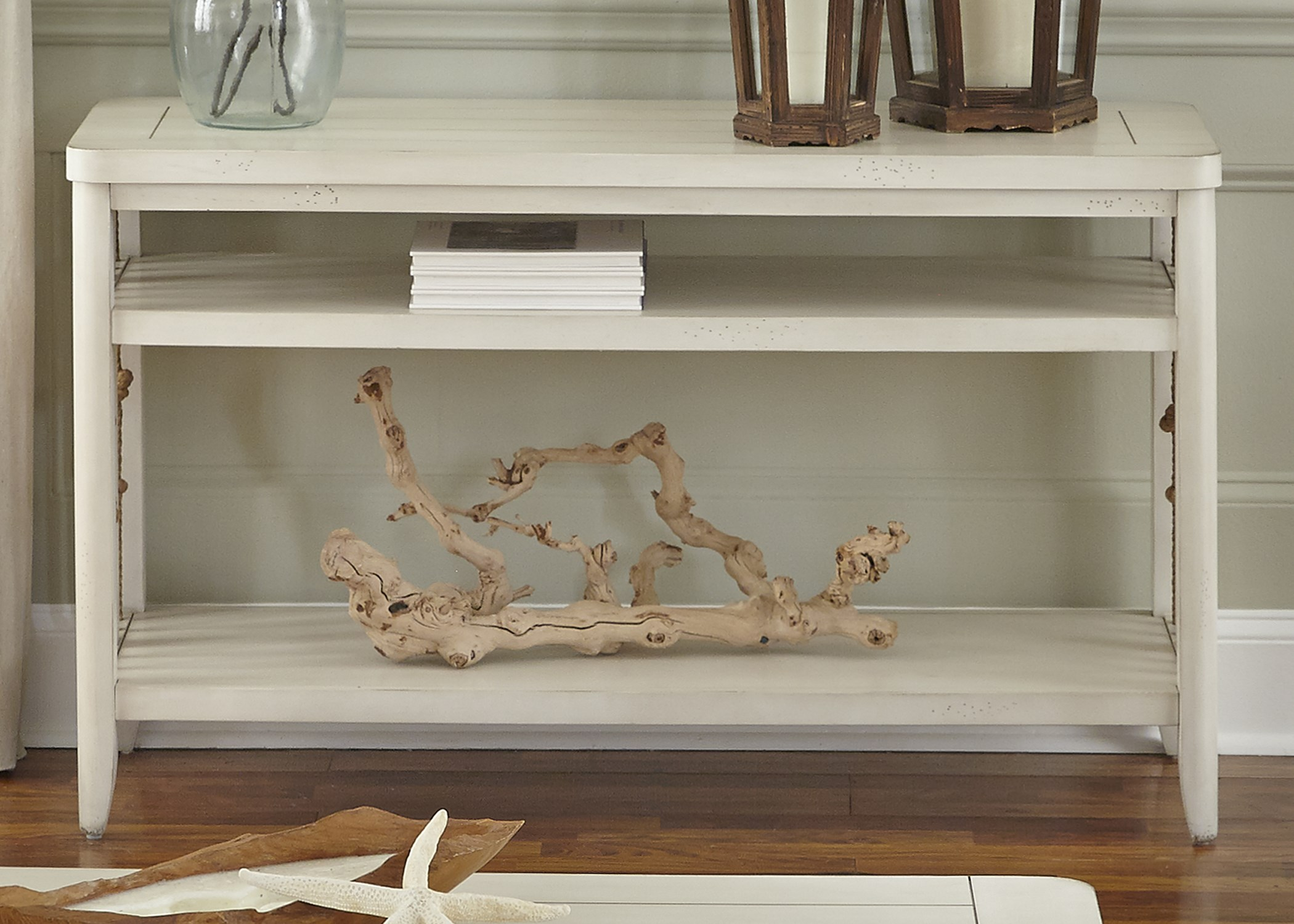 Merveilleux Liberty Furniture Dockside II Coastal Sofa Table With Rope Accents