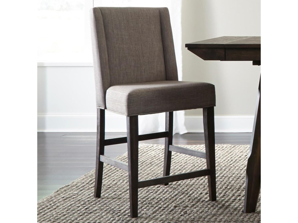 Liberty Furniture Double BridgeUpholstered Counter Chair
