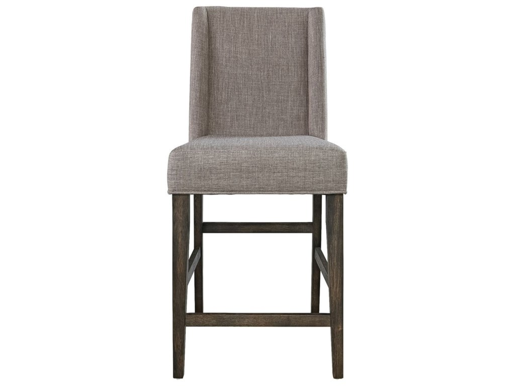 Vendor 5349 Double BridgeUpholstered Counter Chair