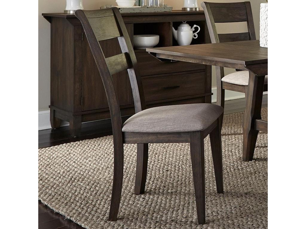 Liberty Furniture Double BridgeSplat Back Side Chair