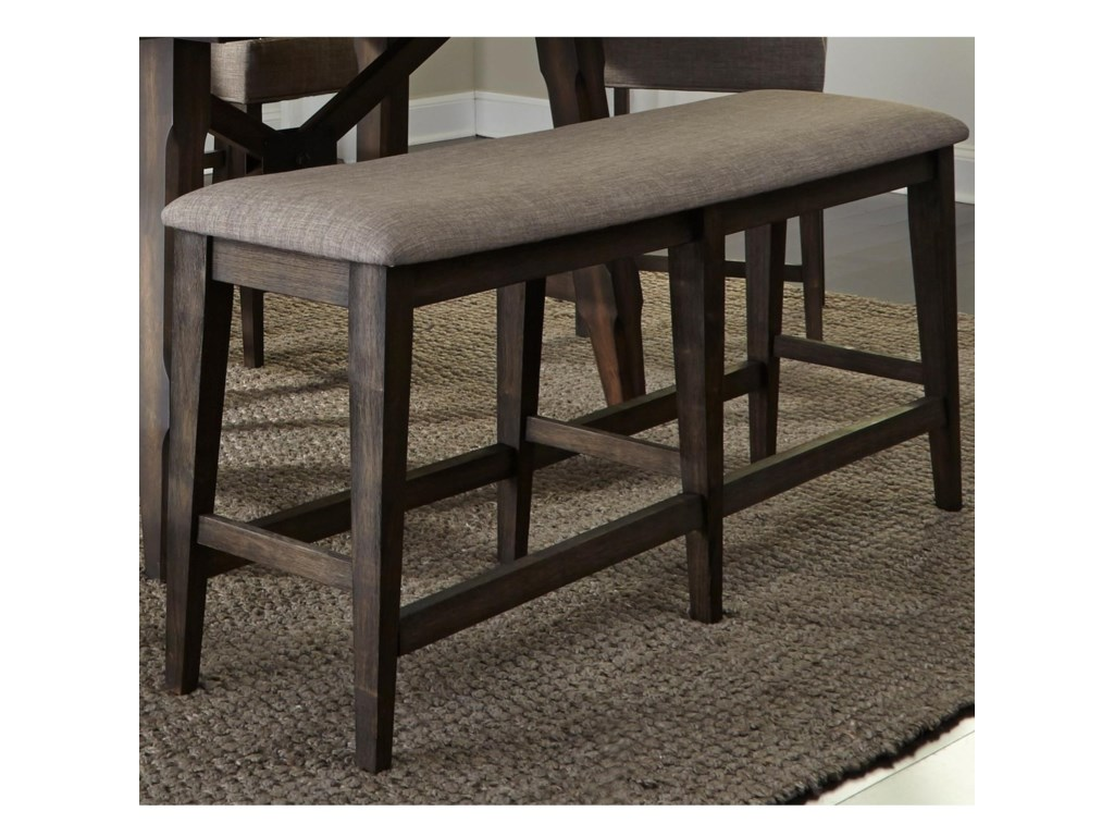 Liberty Furniture Double BridgeCounter Height Dining Bench