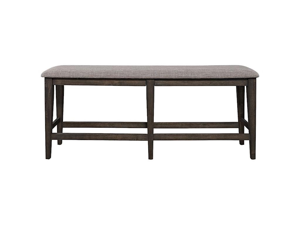 Liberty Furniture Double BridgeCounter Height Dining Bench