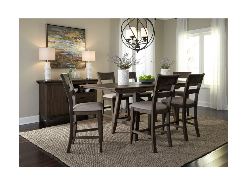 Liberty Furniture Double BridgeDining Room Group