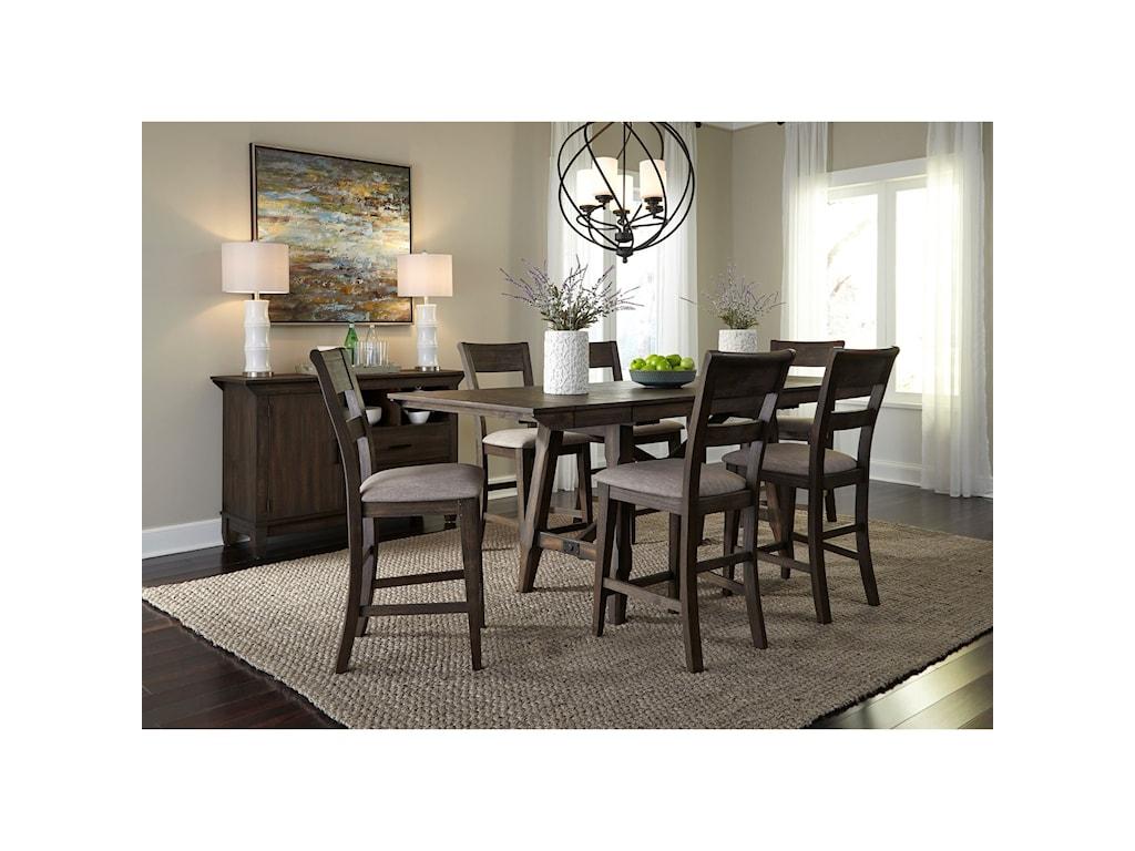 Liberty Furniture Double BridgeDining Room Group