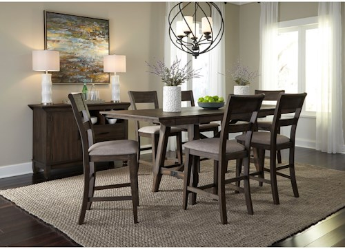 Liberty Furniture Double Bridge Dining Room Group