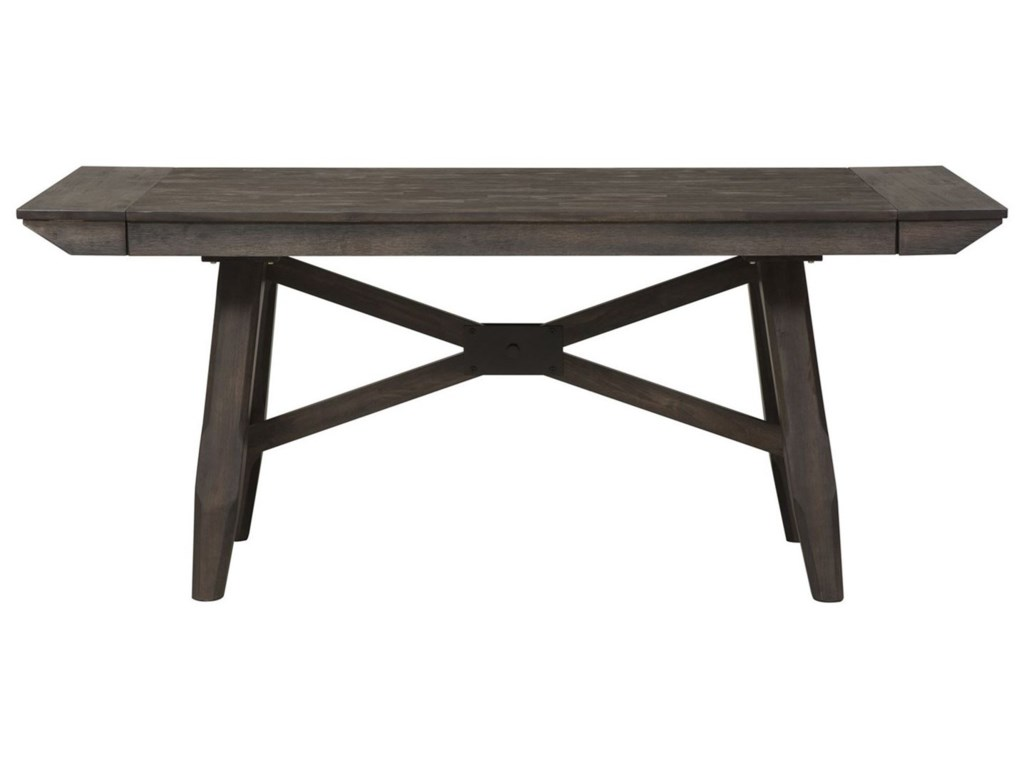 Liberty Furniture Double BridgeTrestle Table