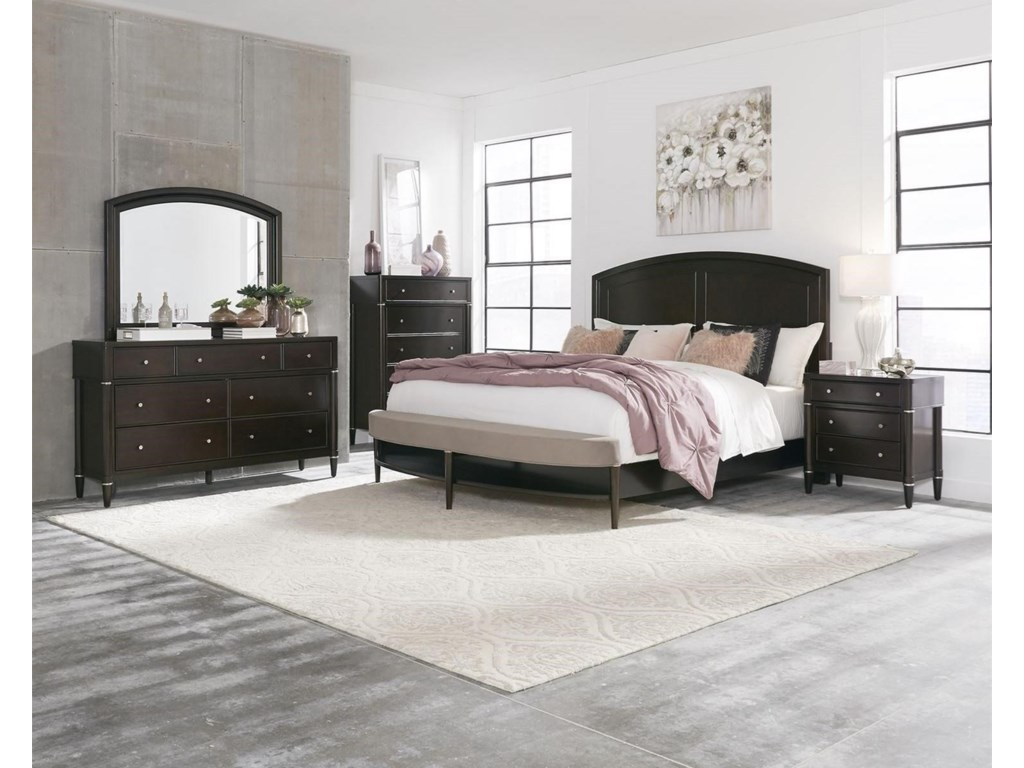 Liberty Furniture Essex425-BR 5 PC King Group