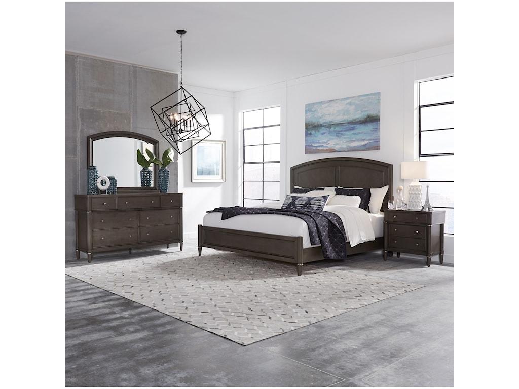 Liberty Furniture EssexQueen Panel Bed