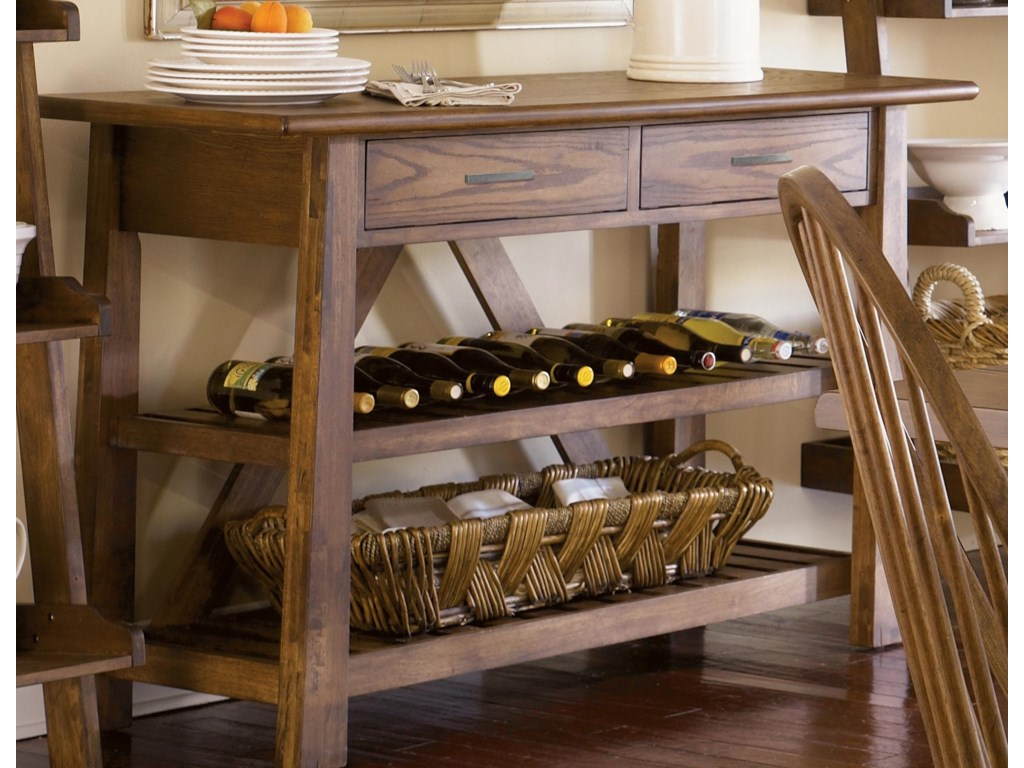 Liberty Furniture Farmhouse Server
