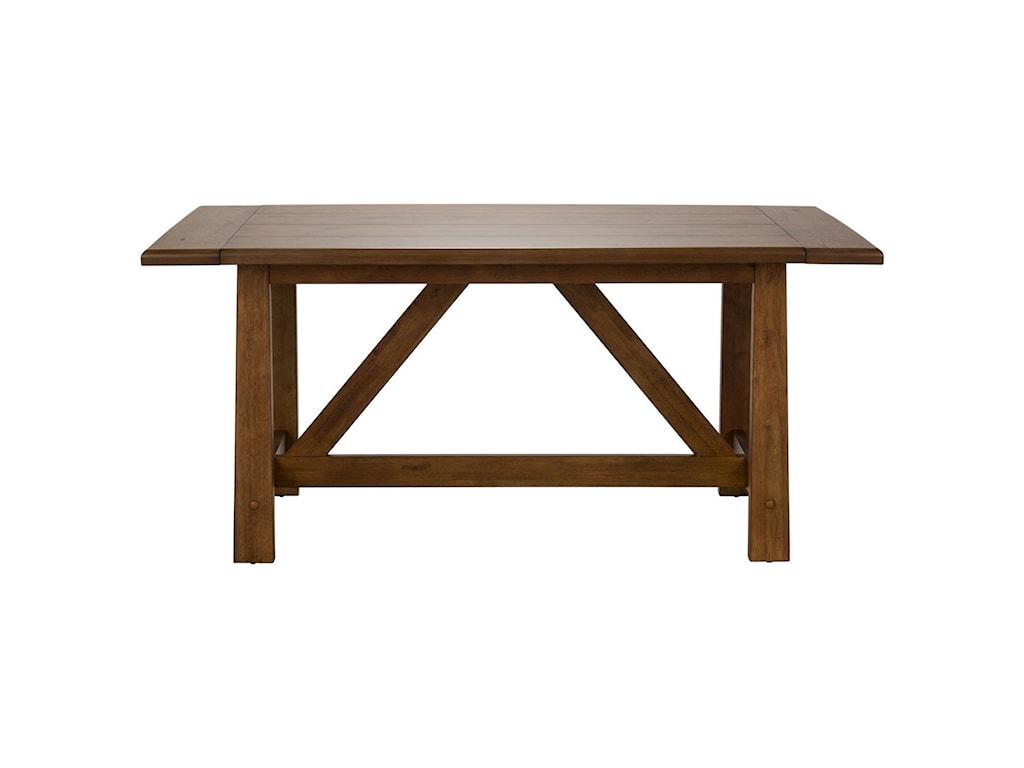 Liberty Furniture Farmhouse Trestle Table