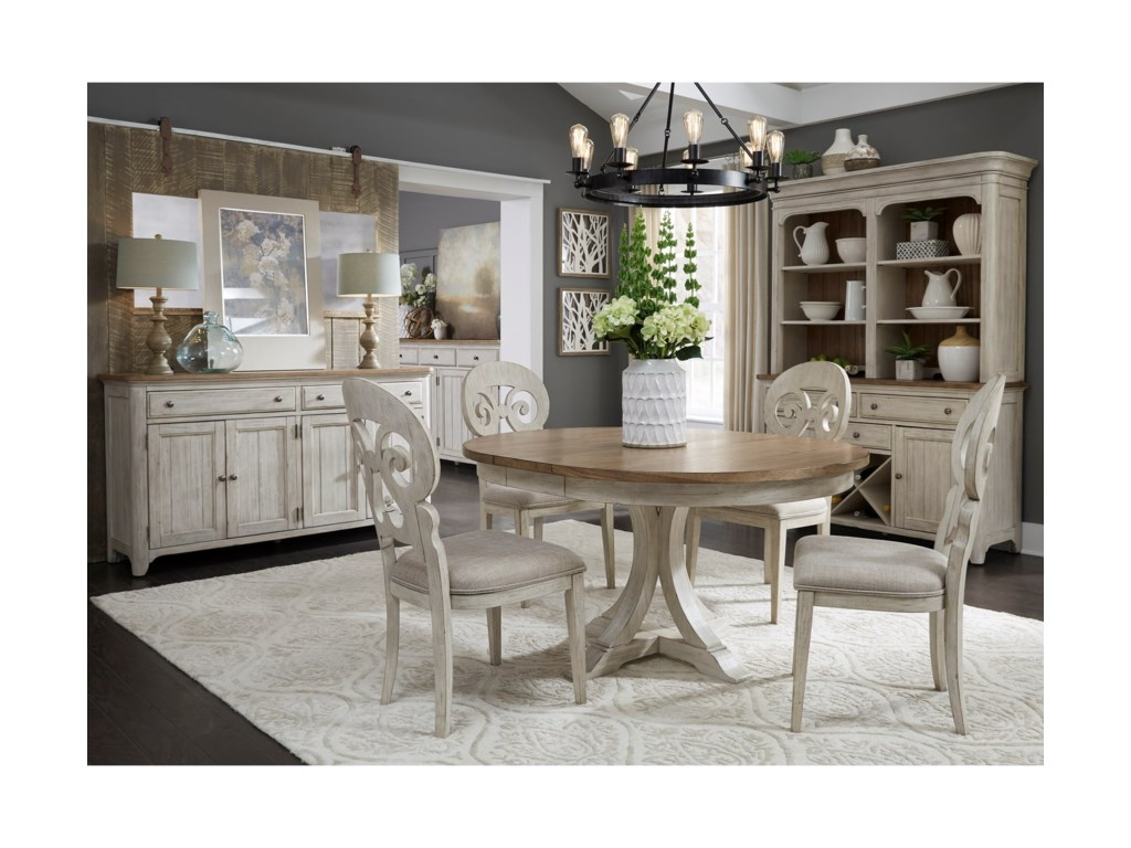 Liberty Furniture Farmhouse Reimagined Dining Room Group Miller