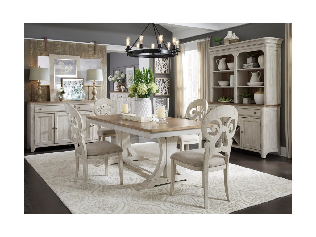 Liberty Furniture Farmhouse ReimaginedDining Room Group