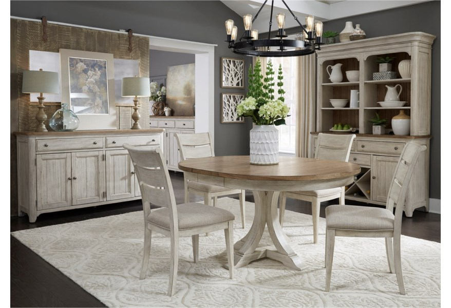 Heavy Duty Folding Picnic Table, Liberty Furniture Farmhouse Reimagined Dining Room Group Northeast Factory Direct Casual Dining Room Groups