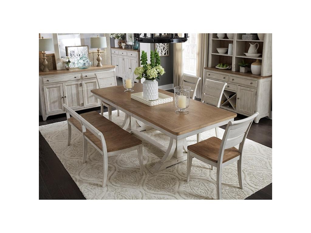 Liberty Furniture FarmingtonDining Room Group