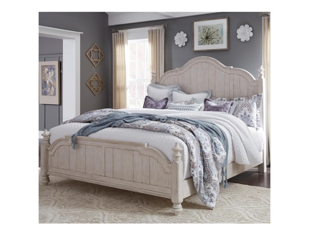 marketking bassett vaughan products french item trim height beds width market belfort bed king traditional threshold poster