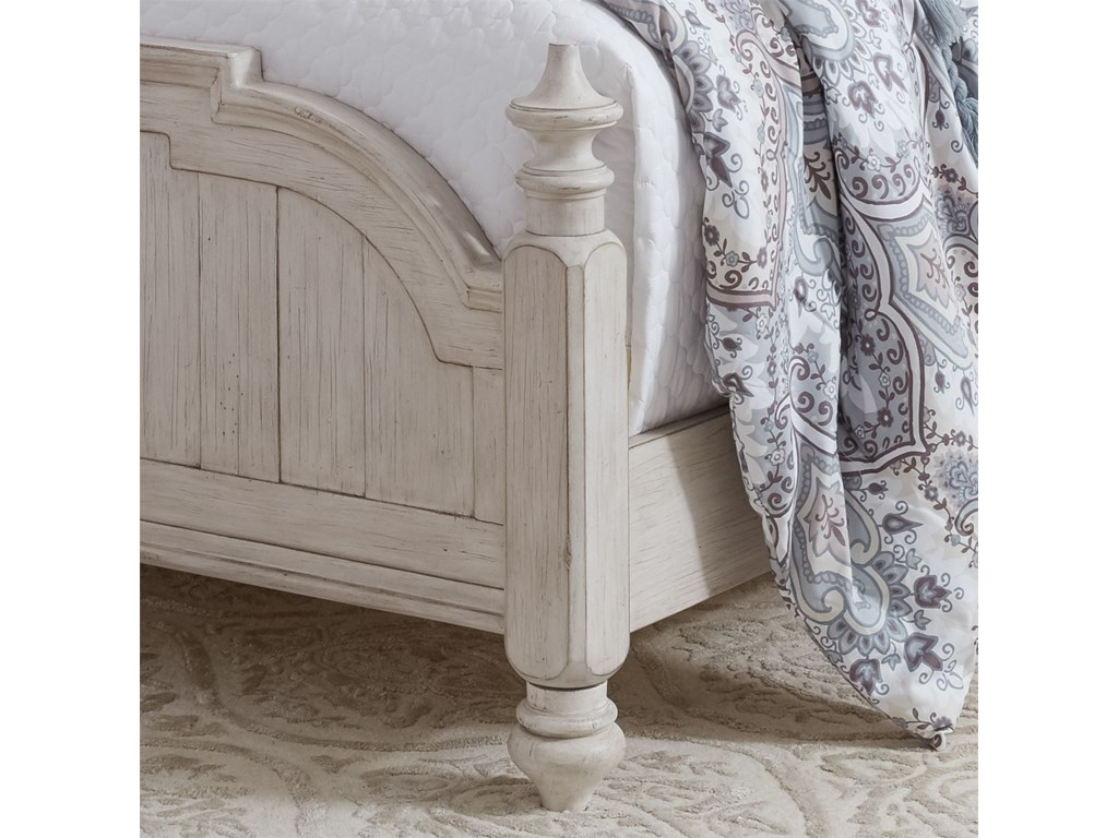 Liberty Furniture Farmhouse ReimaginedKing Poster Bed