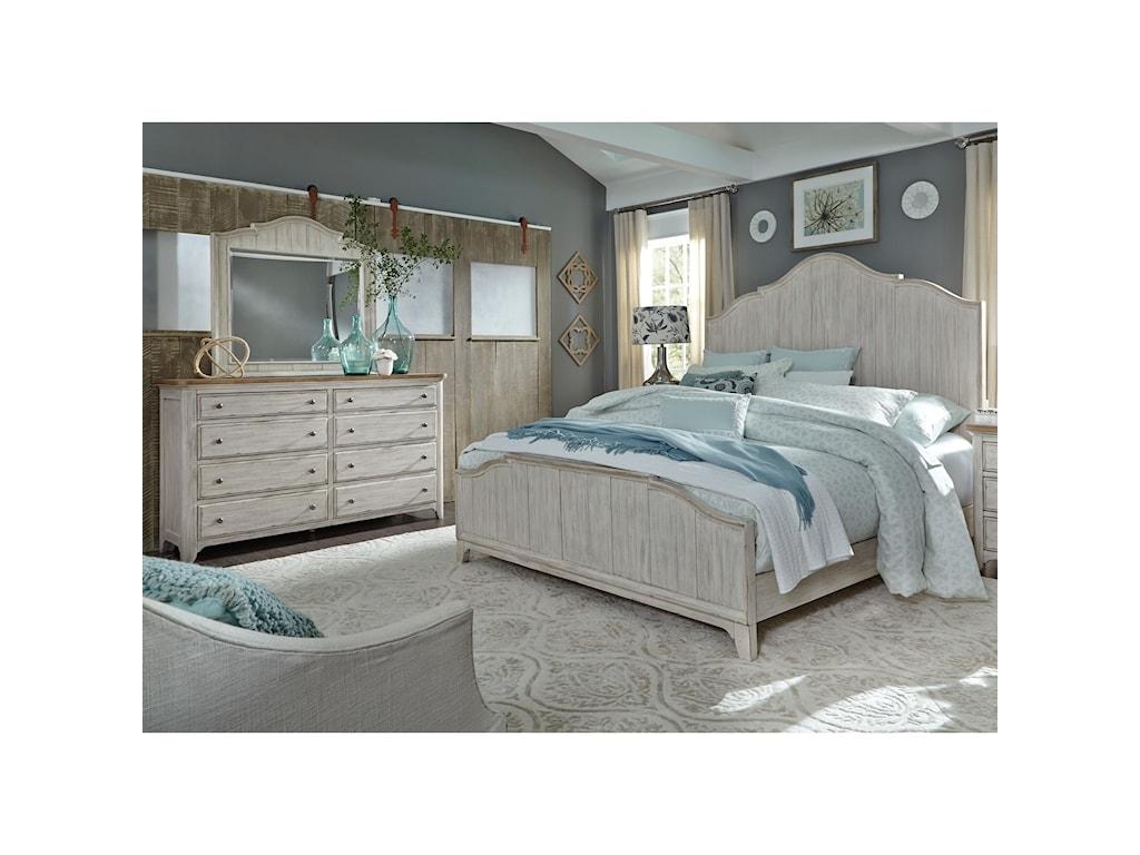 Liberty Furniture Farmhouse ReimaginedQueen Bedroom Group
