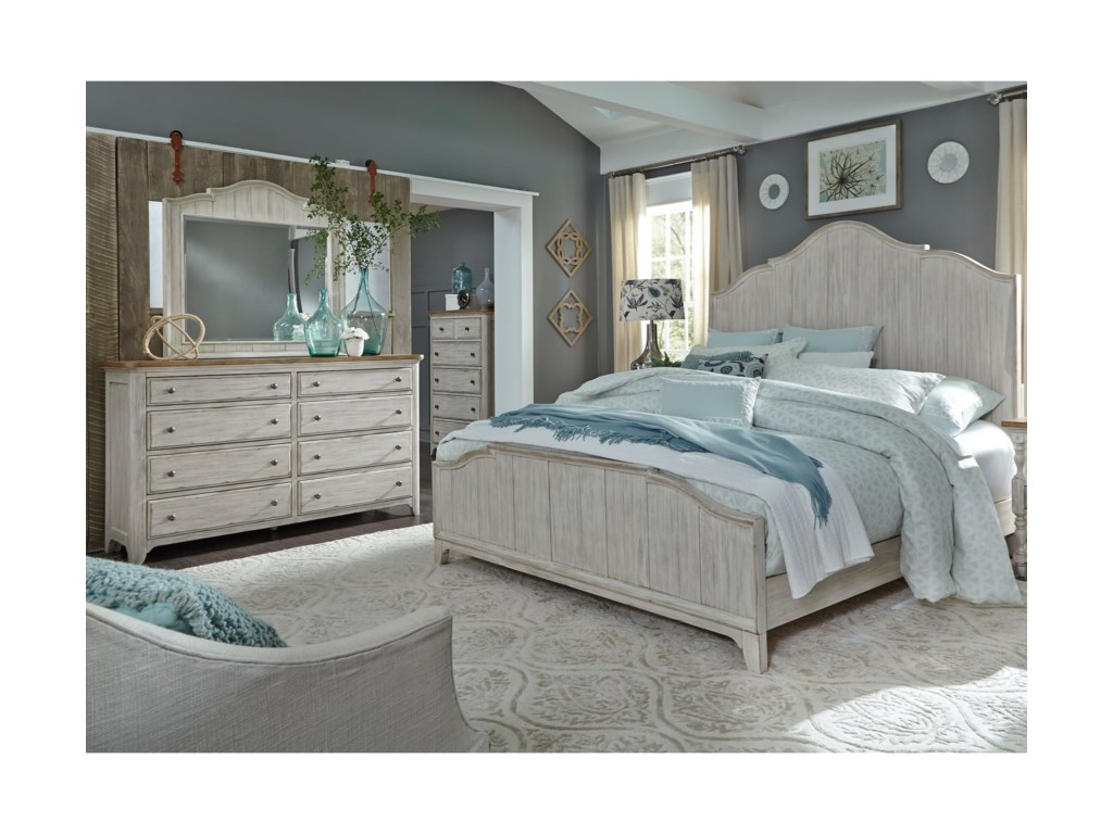 Liberty Furniture Farmhouse ReimaginedQueen Bedroom Group