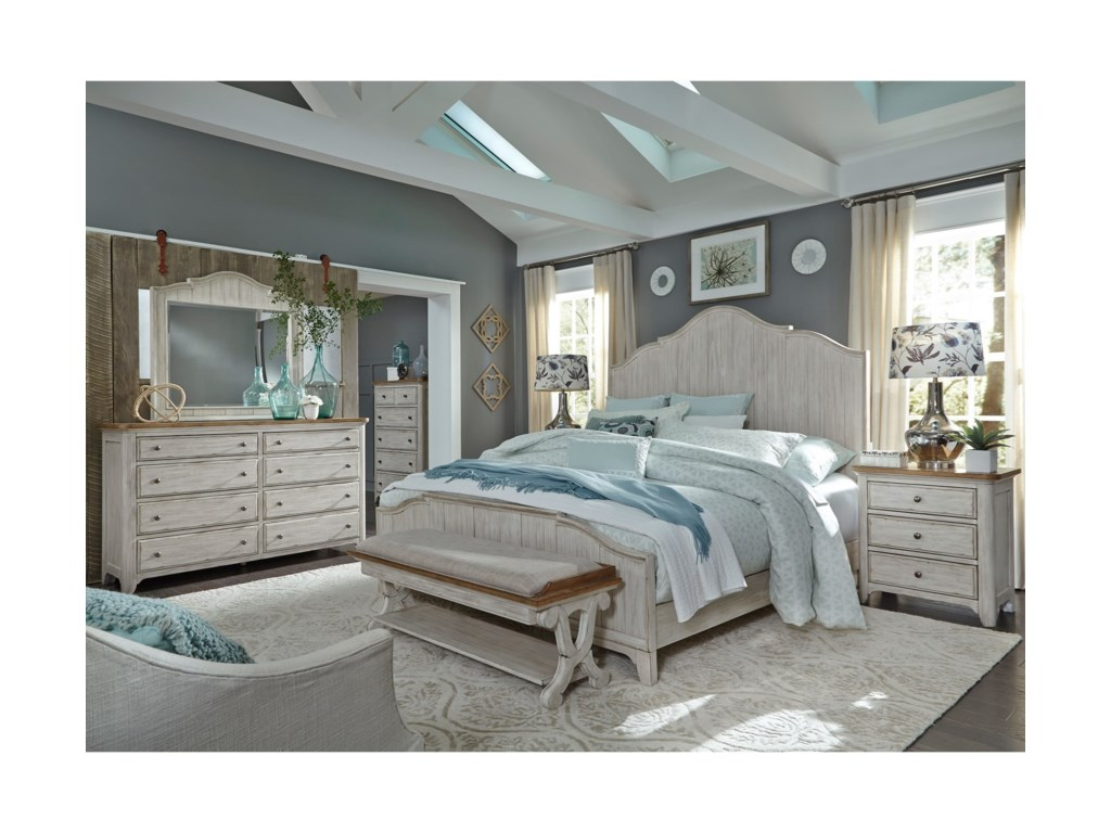 Sarah Randolph Designs Farmhouse ReimaginedQueen Bedroom Group