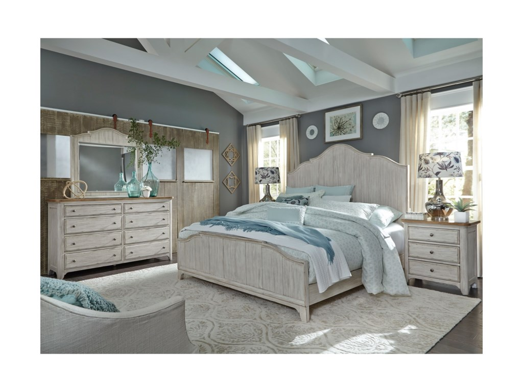 Liberty Furniture Farmhouse ReimaginedKing Bedroom Group