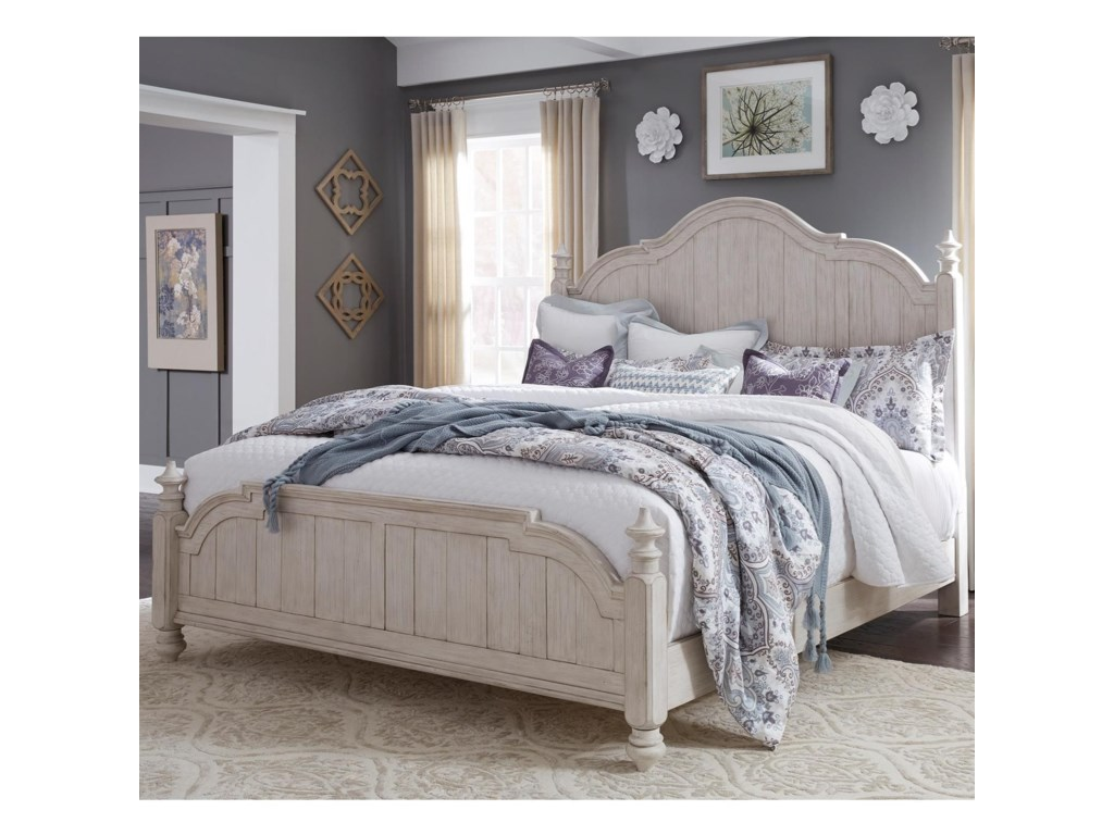 Liberty Furniture Farmhouse ReimaginedQueen Poster Bed