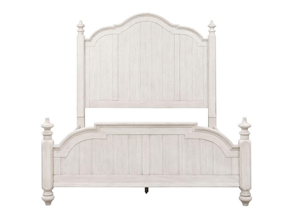 Liberty Furniture Farmhouse ReimaginedQueen Poster Bed