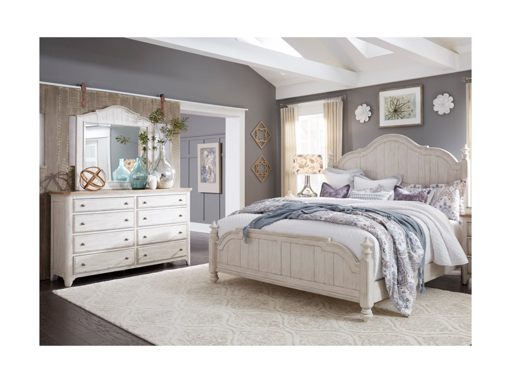 Liberty Furniture Farmhouse ReimaginedKing Bedroom Group