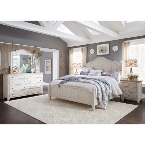 Liberty Furniture Farmhouse Reimagined King Bedroom Group