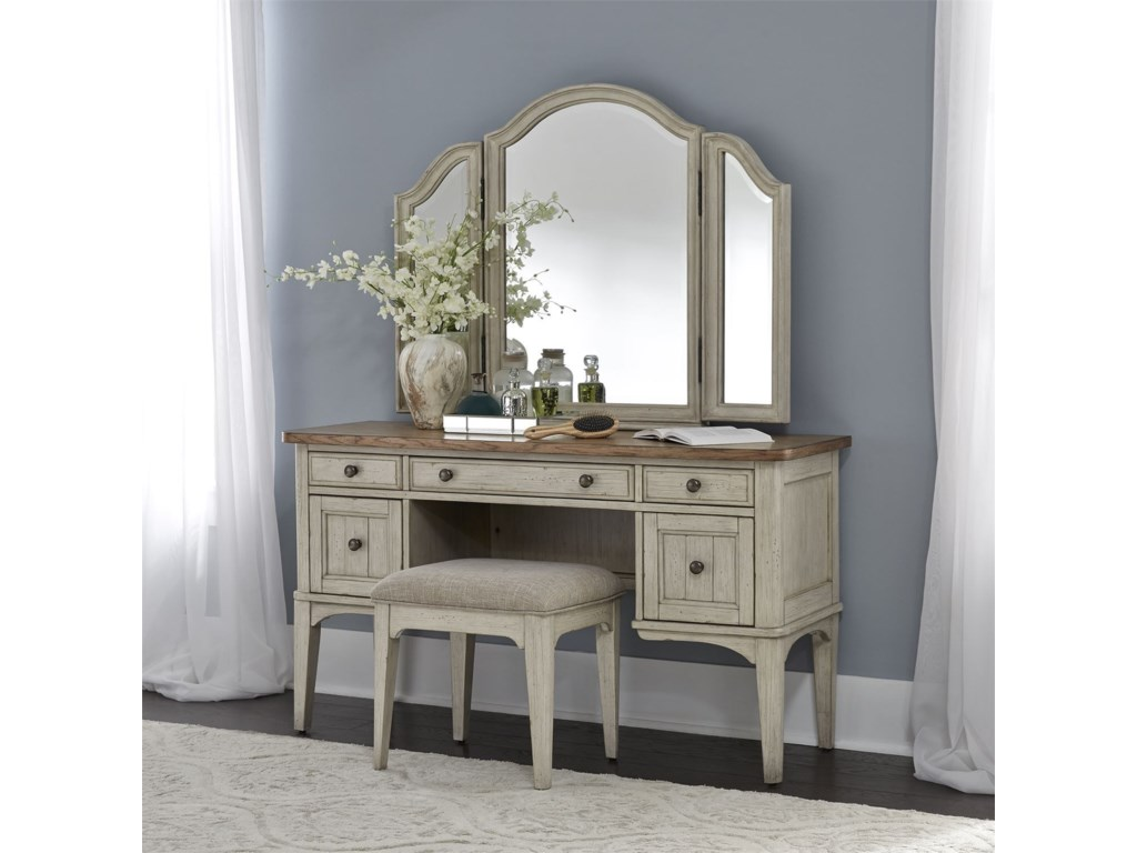 Liberty Furniture Farmhouse ReimaginedVanity Set
