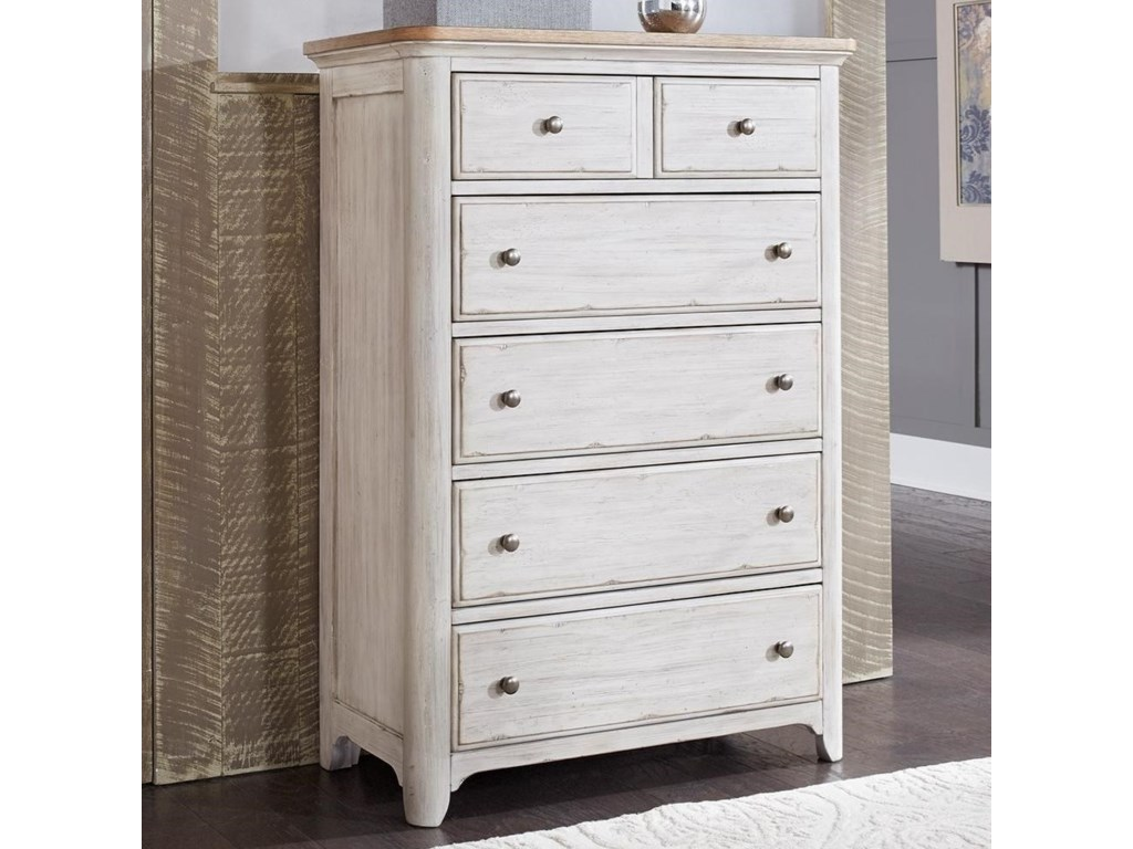 Sarah Randolph Designs Farmhouse Reimagined5 Drawer Chest