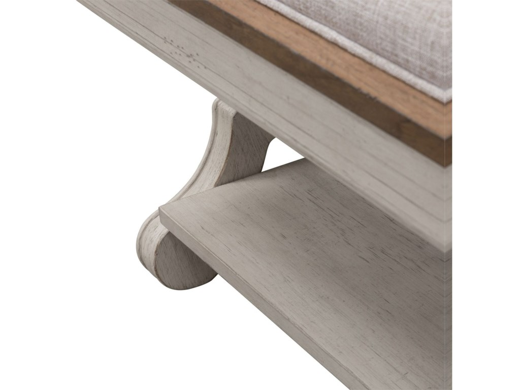 Sarah Randolph Designs Farmhouse ReimaginedBed Bench