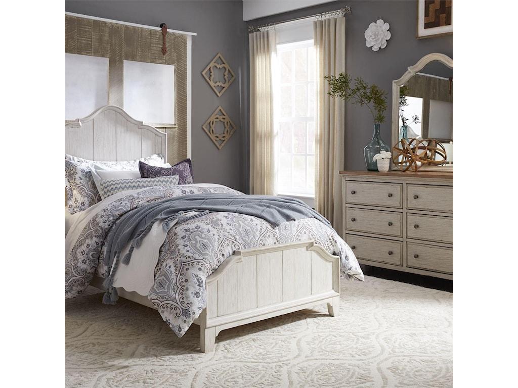 Liberty Furniture Farmhouse ReimaginedKid's Bedroom Mirror