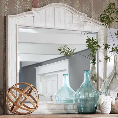 Liberty Furniture Farmhouse Reimagined Relaxed Vintage Mirror