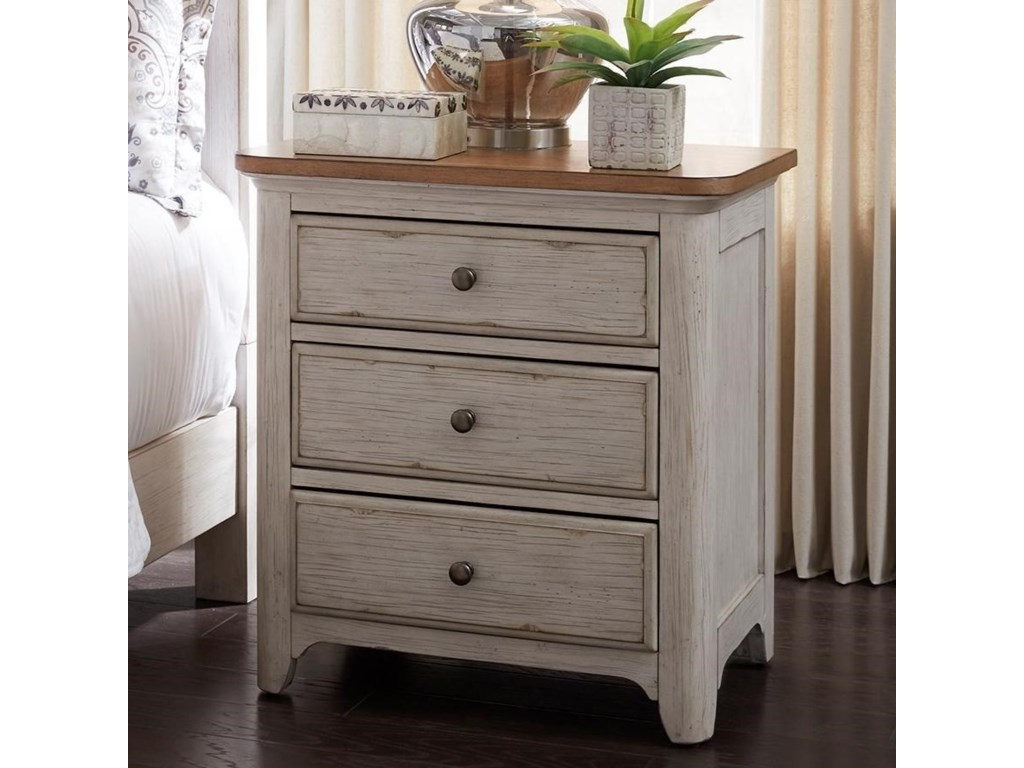 Liberty Furniture Farmington3 Drawer Night Stand