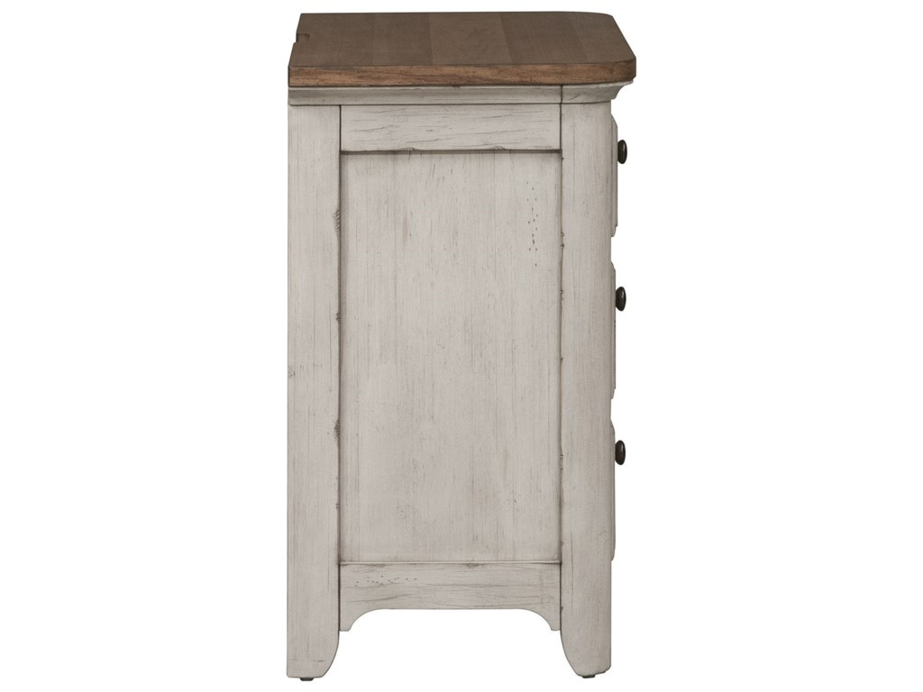 Liberty Furniture Farmhouse Reimagined3 Drawer Night Stand