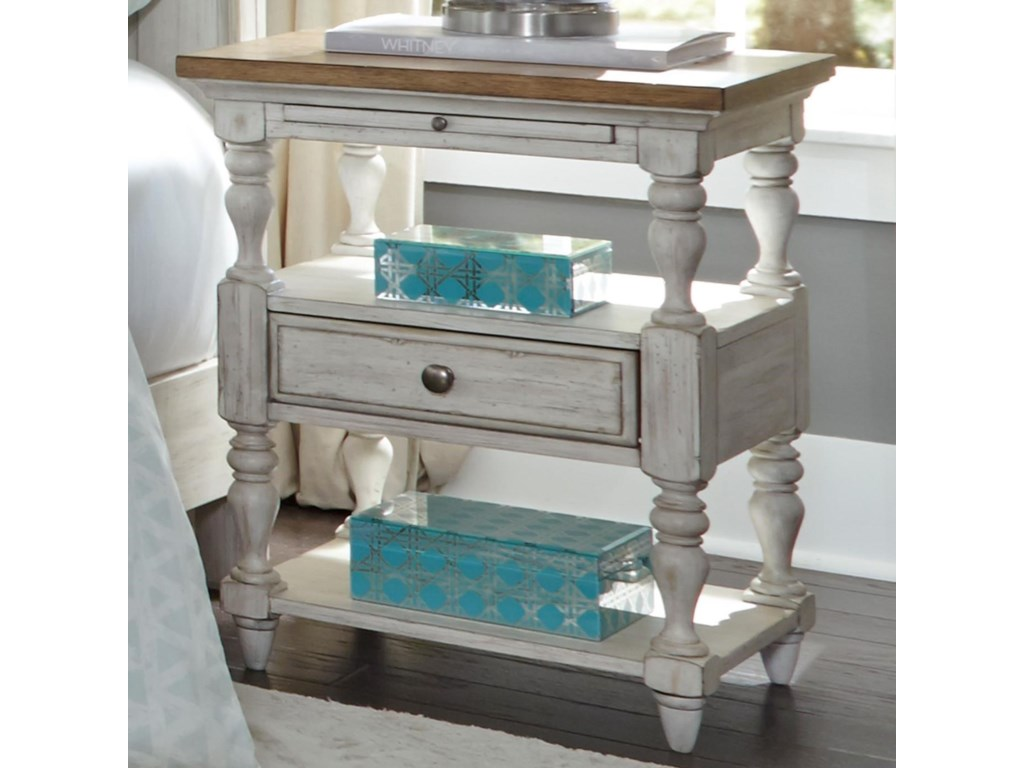 Liberty Furniture Farmhouse Reimagined1 Drawer Night Stand