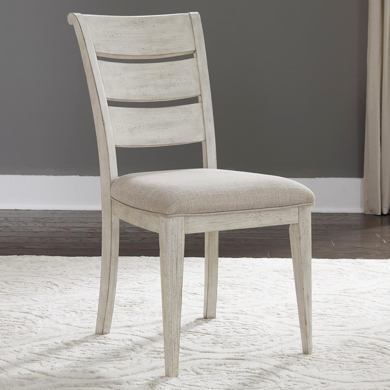 Attirant Liberty Furniture Farmhouse ReimaginedLadder Back Side Chair