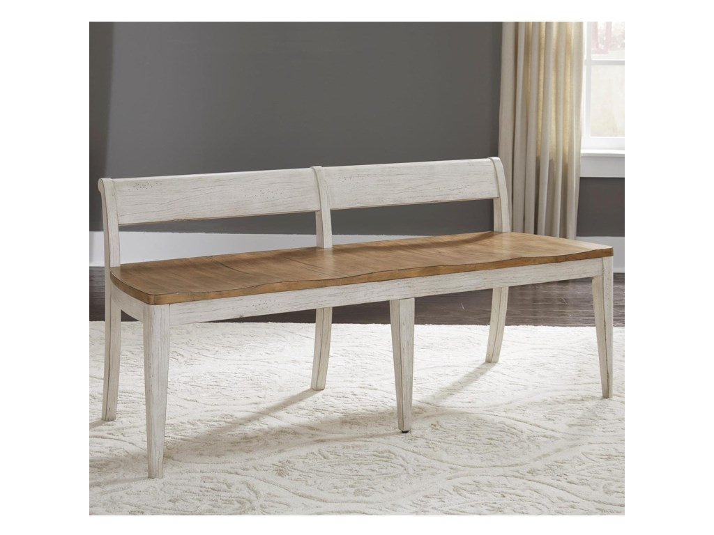 Liberty Furniture Farmhouse ReimaginedDining Bench